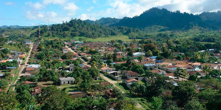 El municipio de Güinope,  Honduras
