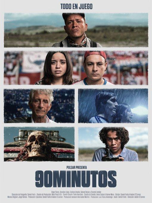 """Película """"90 Minutos"""" estará en Festival de Cine de Colombia"""