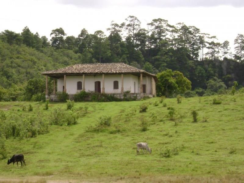 La Casa embrujada de Santa Rosa, Copán