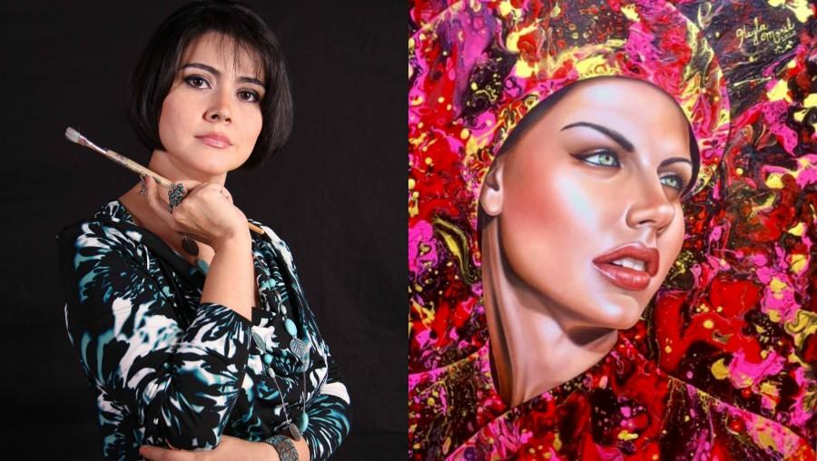 Keyla Morel, artista hondureña, destaca en concurso de la ONU