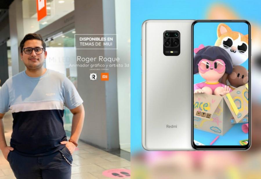 Hondureño Roger Roque ganó premio en concurso de Xiaomi España