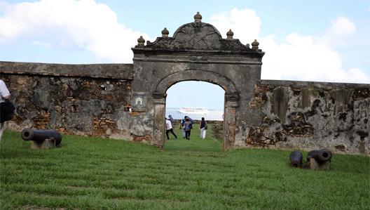 Fortaleza de Santa Bárbara, una ciudad histórica en Trujillo