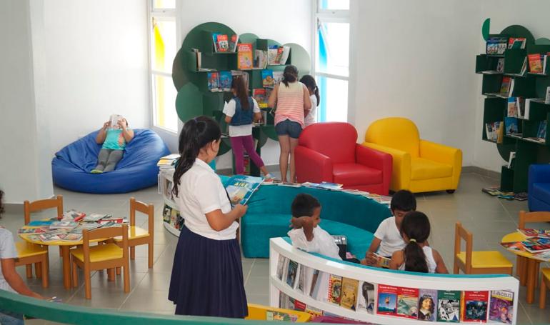 Blue Lupin, la biblioteca hondureña considerada la más bonita del país