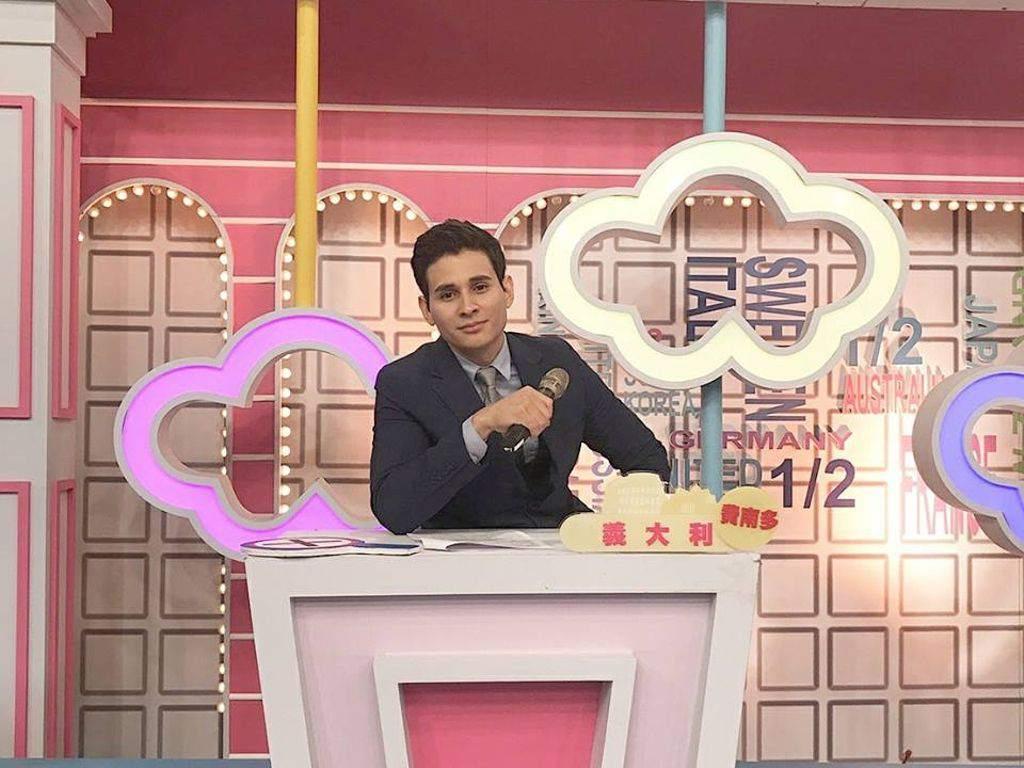 Fernando Palma, hondureño que destaca en industria televisiva de Taiwán