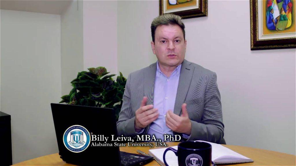 Billy Leiva reconocido como el mejor profesor de postgrado