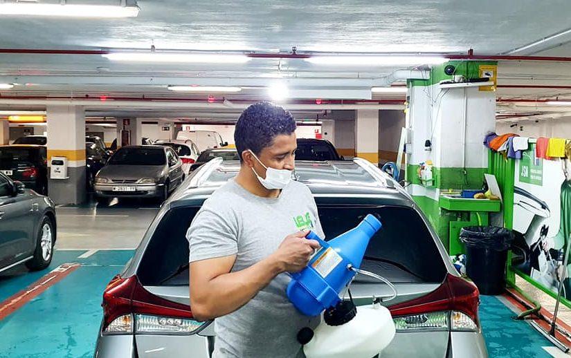 Allan Guzmán sobresale con su autolavado ecológico en España