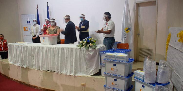 Honduras recibió donaciones de insumos médicos de la Unión Europea
