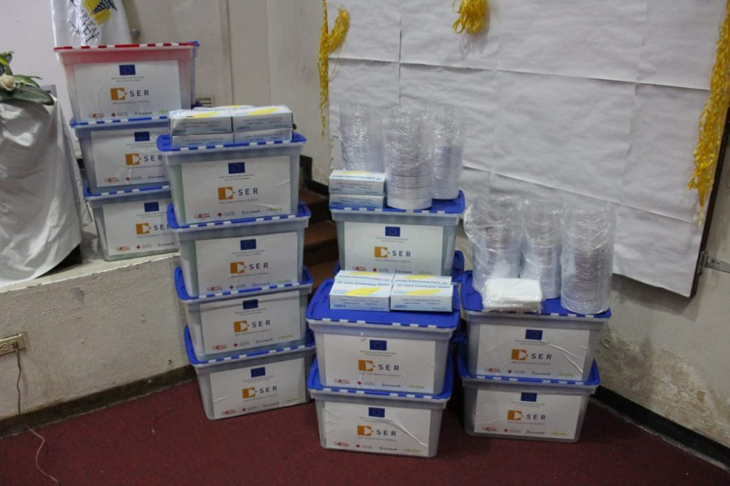 La Unión Europea entregó donaciones de insumos médicos a hospitales de Honduras