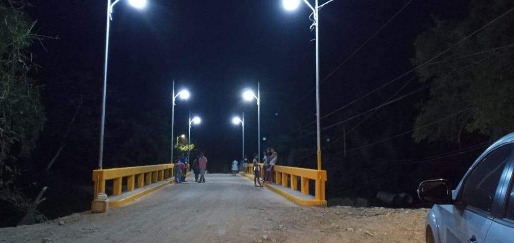 Inauguraron nuevo puente en Balfate, Colón