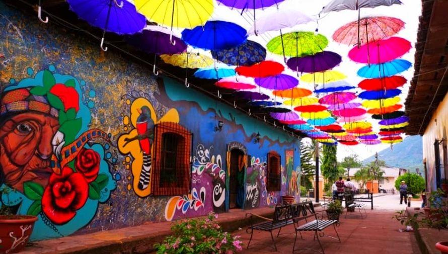 Destinos de Honduras con murales que resaltan la cultura local