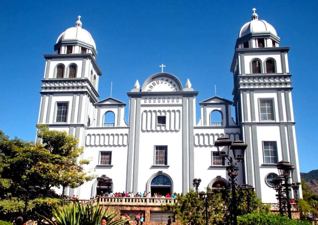La Basílica de Nuestra señora de Suyapa