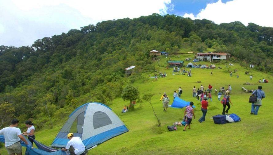 Increíbles lugares para acampar en Honduras