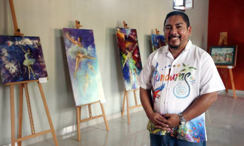 Acuarelistas hondureños crean un grupo para ganar reconocimiento