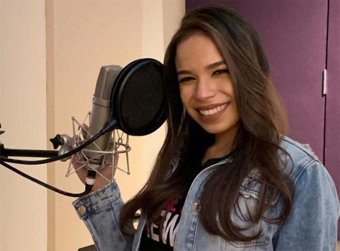 La hondureña Angie Flores, lanzará su nuevo sencillo
