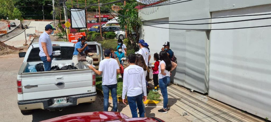 Jóvenes hondureños crearon Comedor Comunitario Tegucigalpa