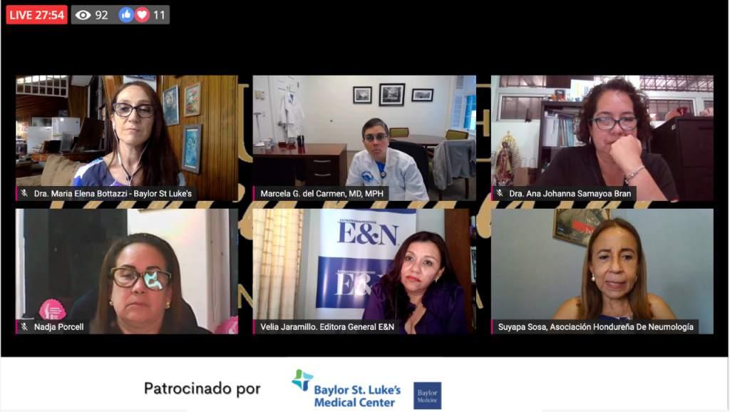 Hondureñas participaron en el foro Mujeres Desafiantes de Centroamérica