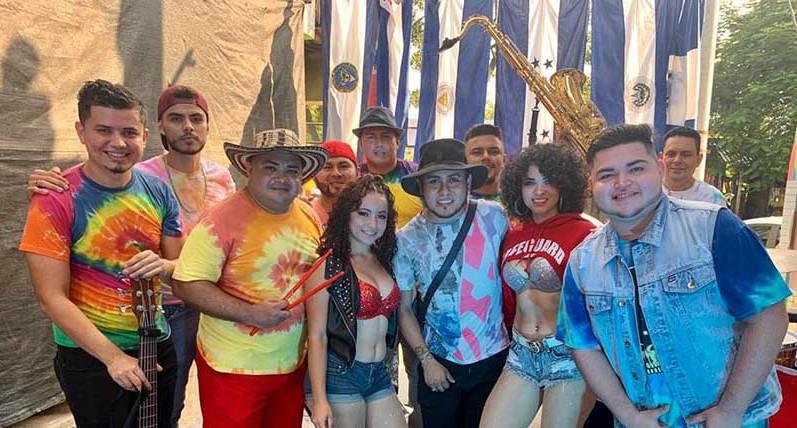 Grupo Kandela colaboró con artistas hondureños en una canción