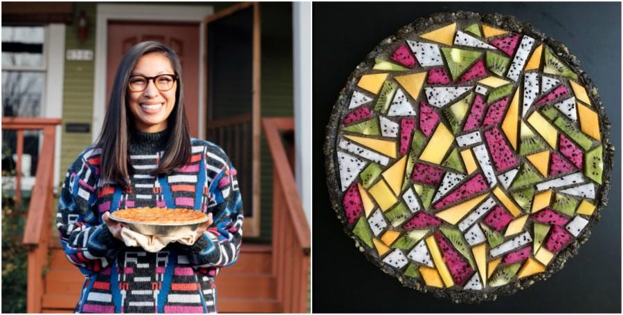 Lauren Ko, hondureña plasma el arte contemporáneo en pasteles
