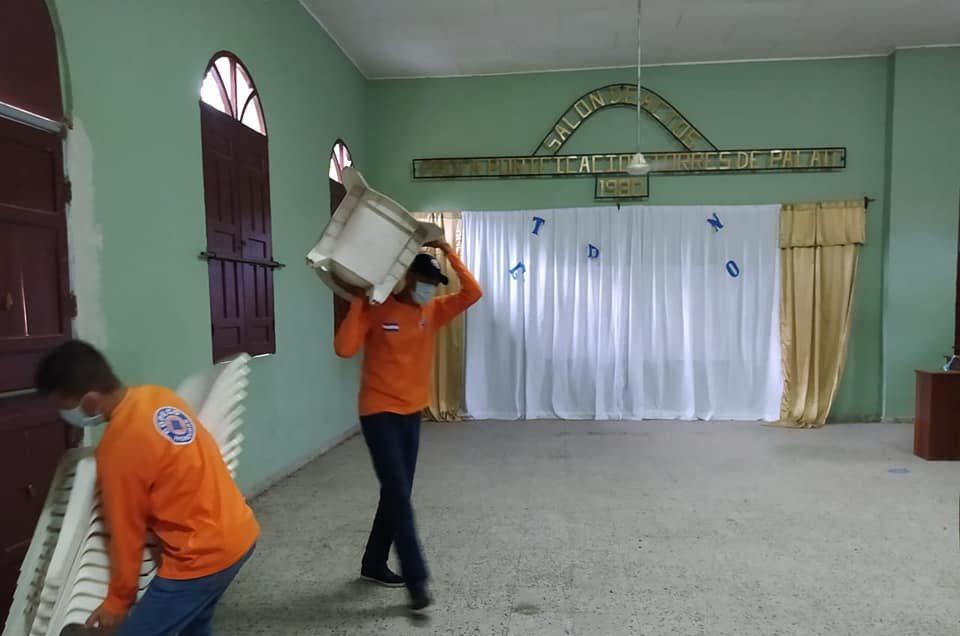 Habilitan albergues por Huracán ETA en Honduras