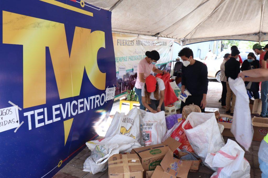Alianza por la Esperanza realizó donaciones a afectados en Honduras
