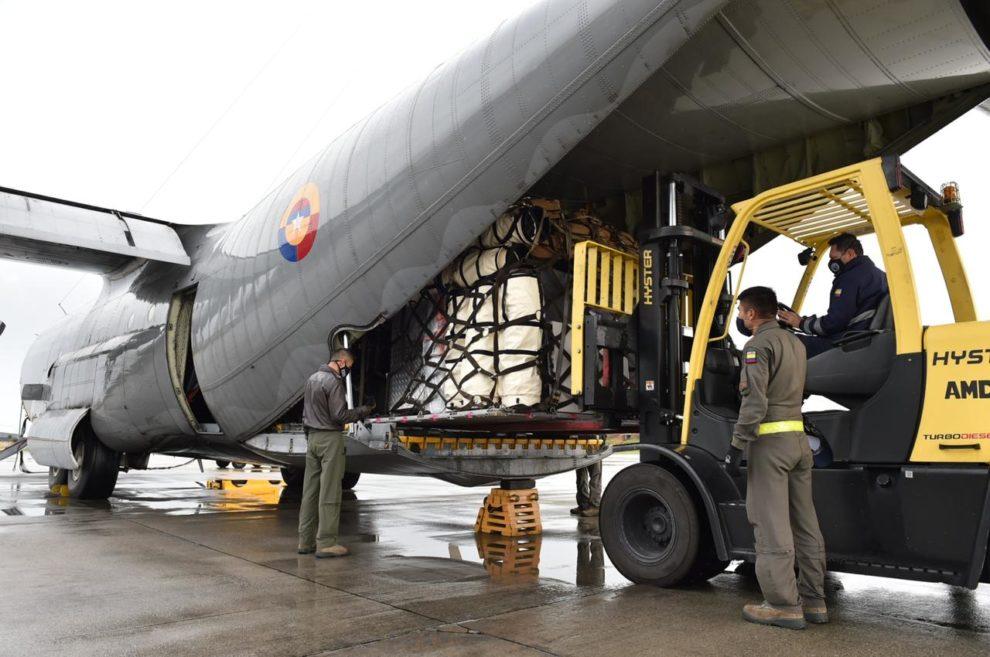 Colombia envía ayuda humanitaria a Honduras por ETA