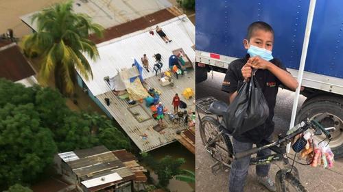 óscar, el niño que donó las ganancias de su venta a afectados por ETA