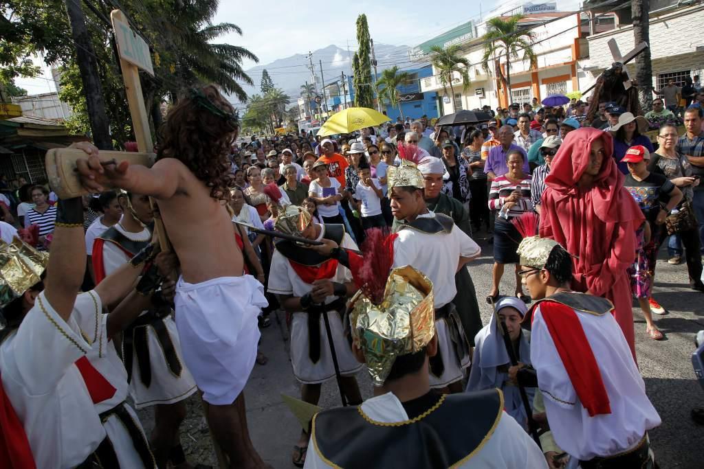 Tradiciones de Honduras, Semana Santa