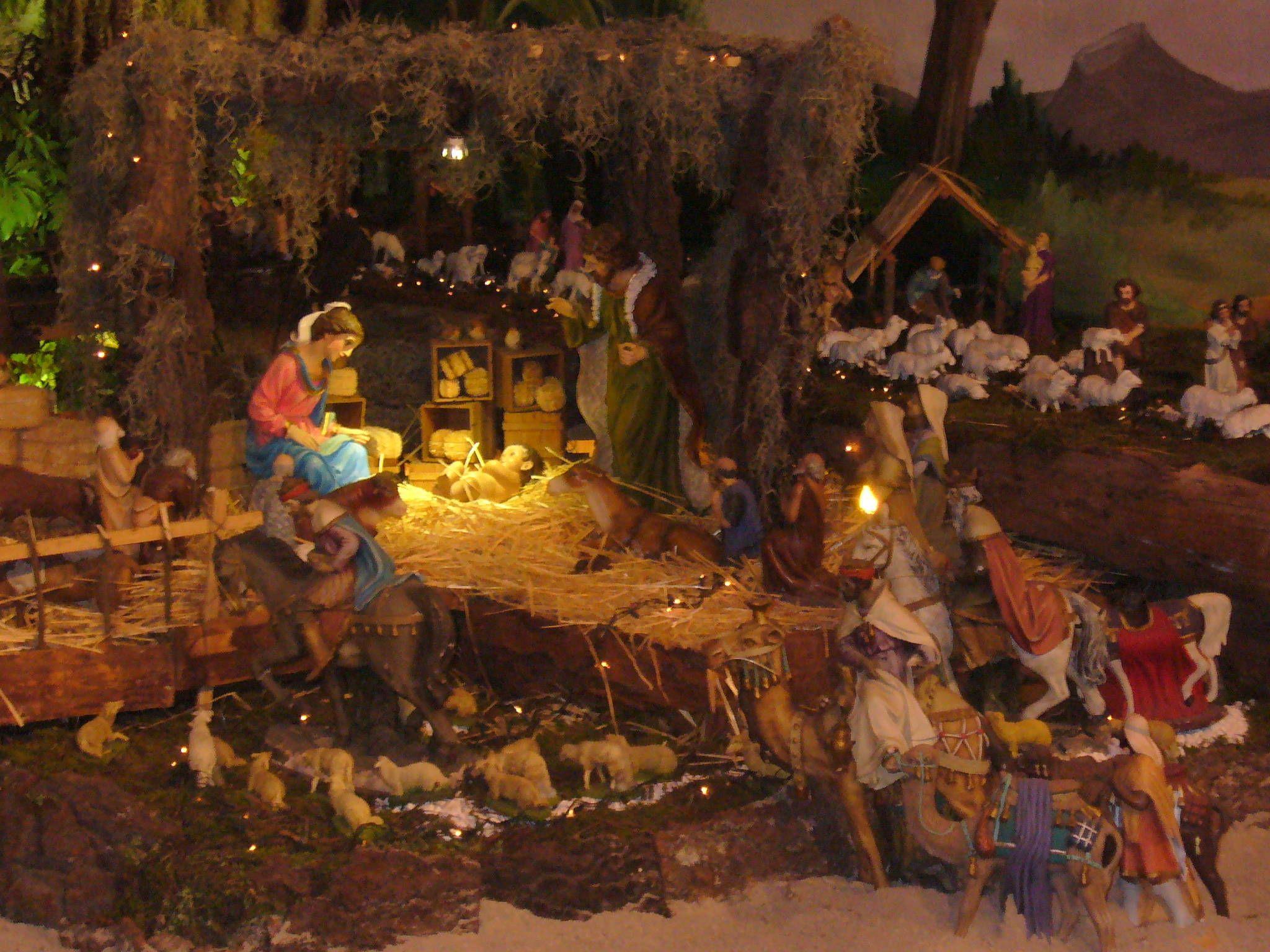 Decoración de nacimientos navideños, tradiciones de Honduras