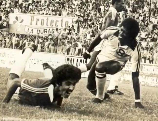 Biografía del futbolista Jorge «la cuca» Bueso