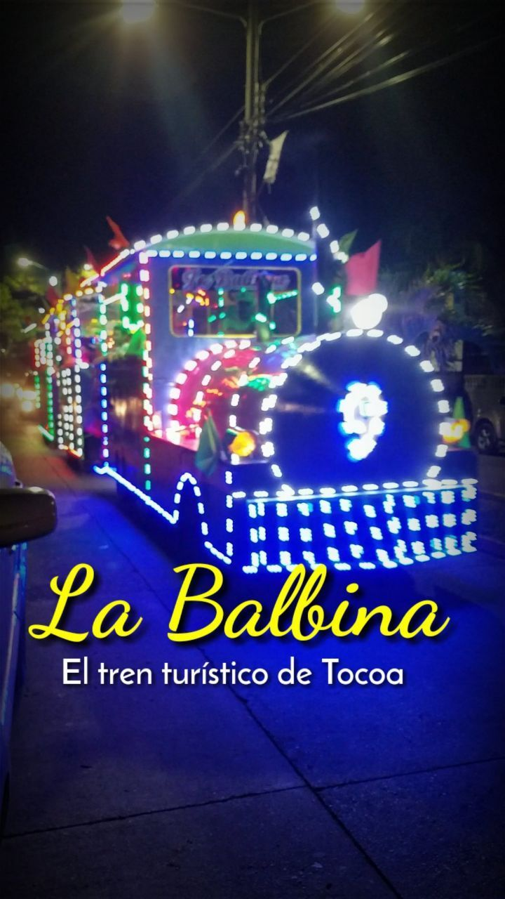 La Balbina, tren de Tocoa