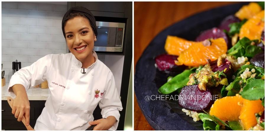Chef Adriana Andonie participa en programa de emprendimientos