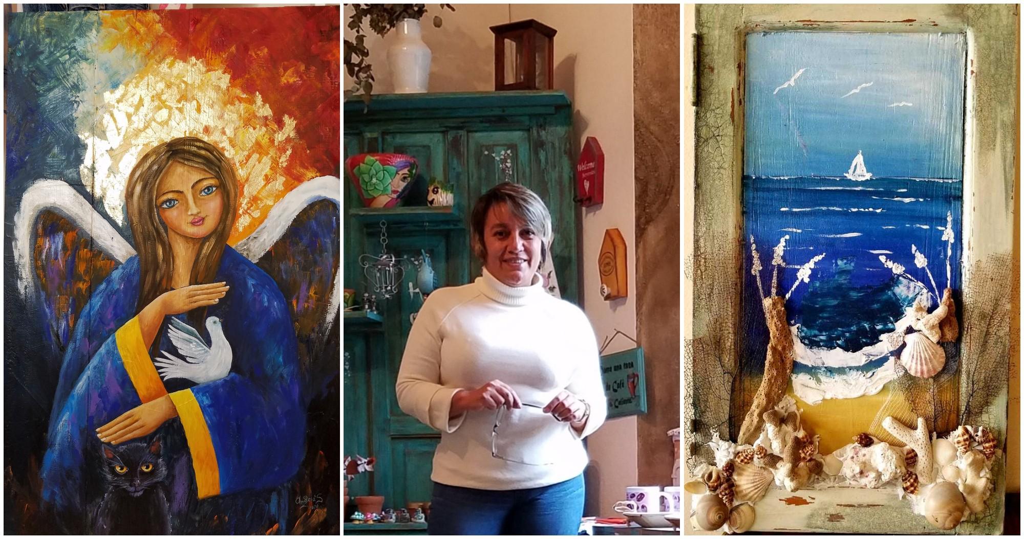 Hondureña Elizabeth Mejía, funda taller de arte en Santa Rosa de Copán