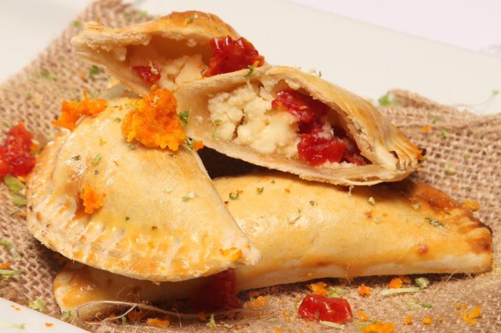Receta hondureña de Empanadas de cuajada