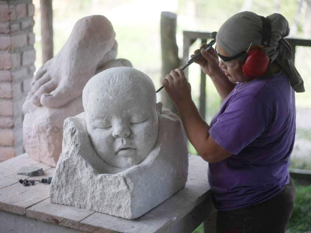Tercer Simposio de Escultura Cantarranas ya dio inicio