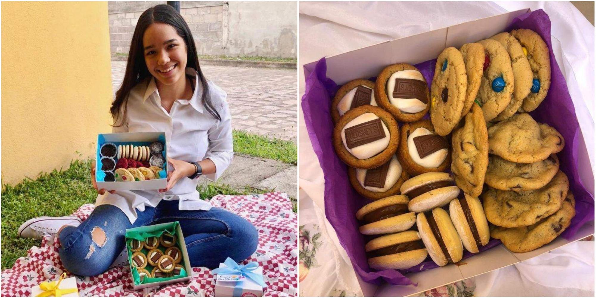 Estudiante hondureña conquista el paladar con deliciosos postres