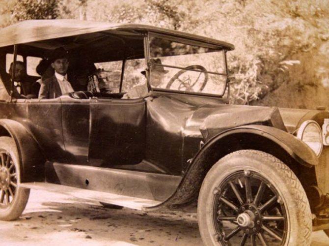 Historia de la introducción de los automóviles a Honduras