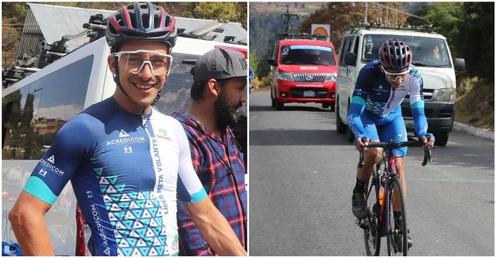 Hondureño Luis López gana la Vuelta al Altiplano Marquense