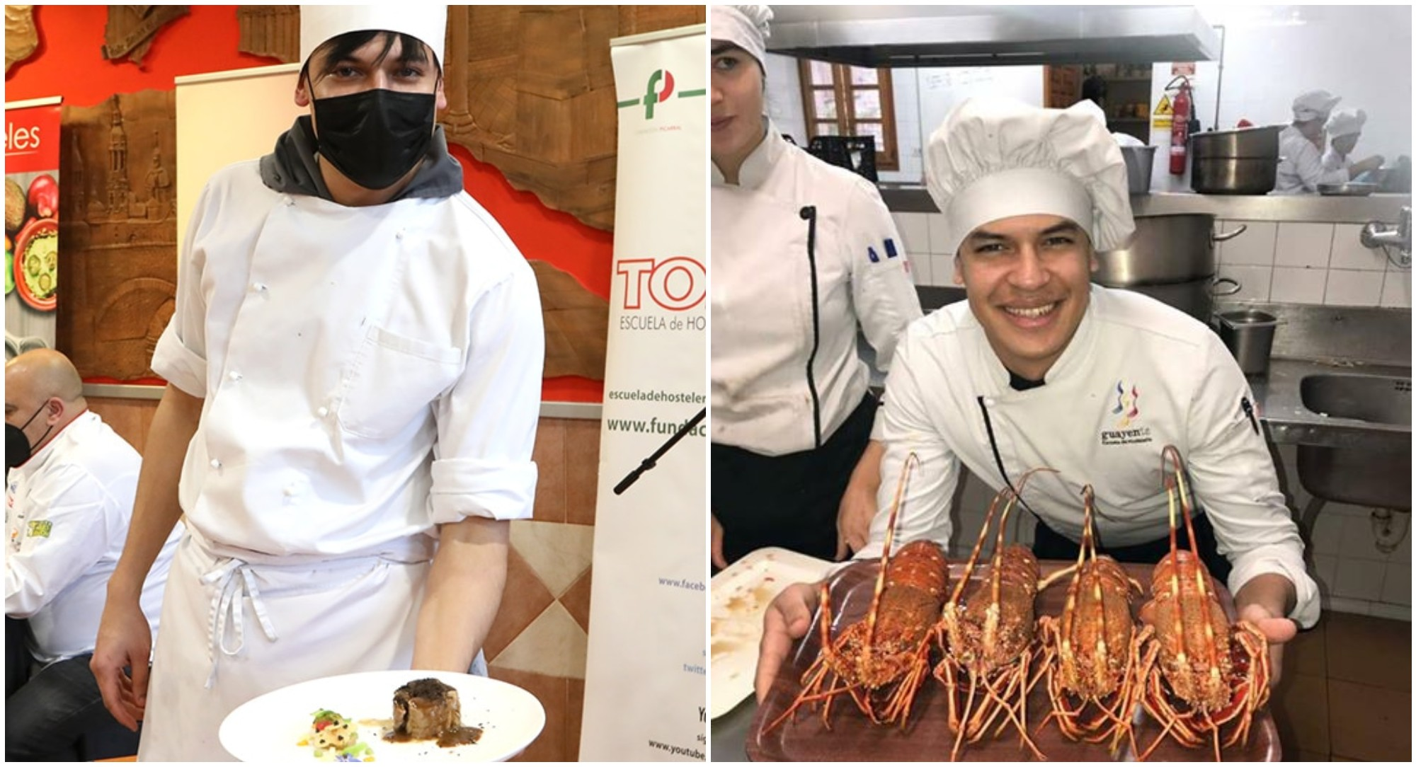 Chef hondureño está compitiendo en concurso culinario de España