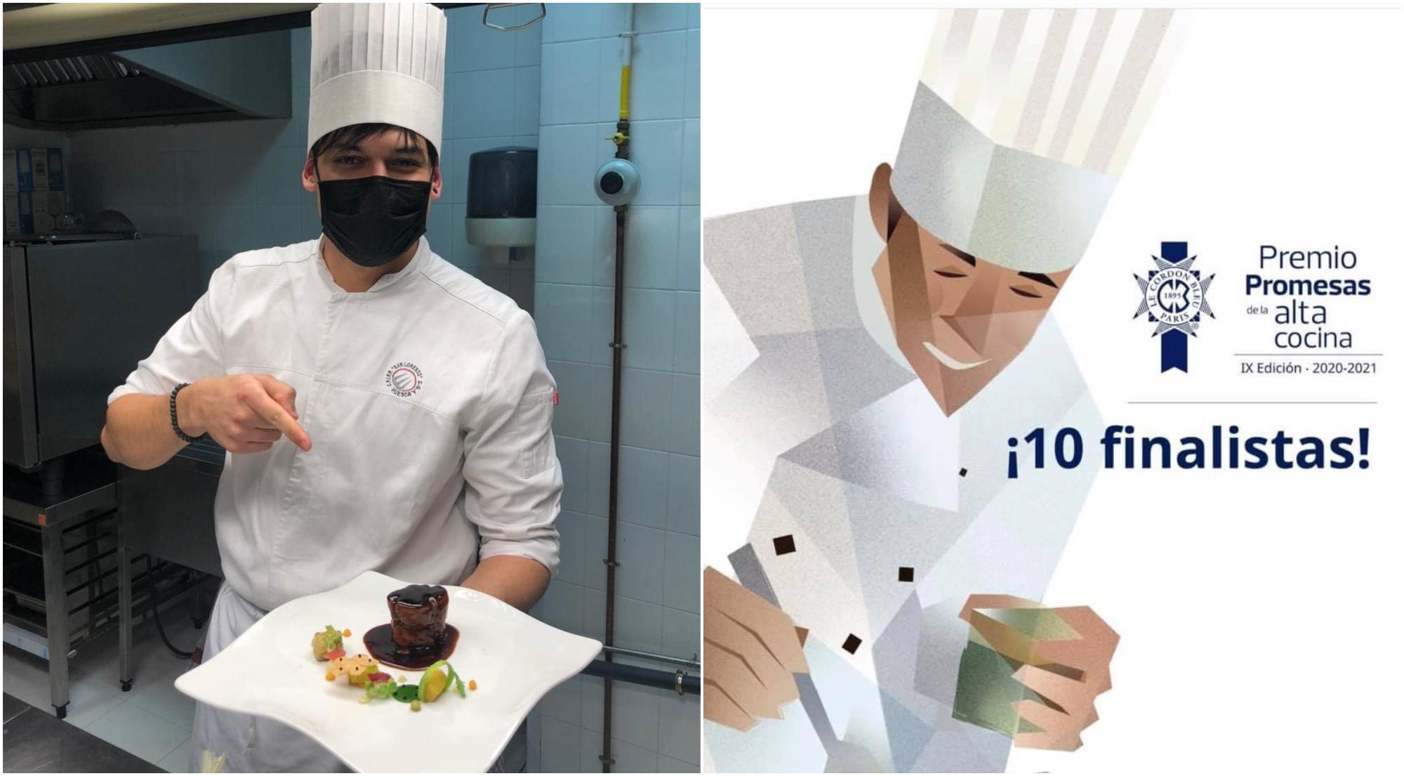 Chef Ariel Munguía destaca entre los mejores de España
