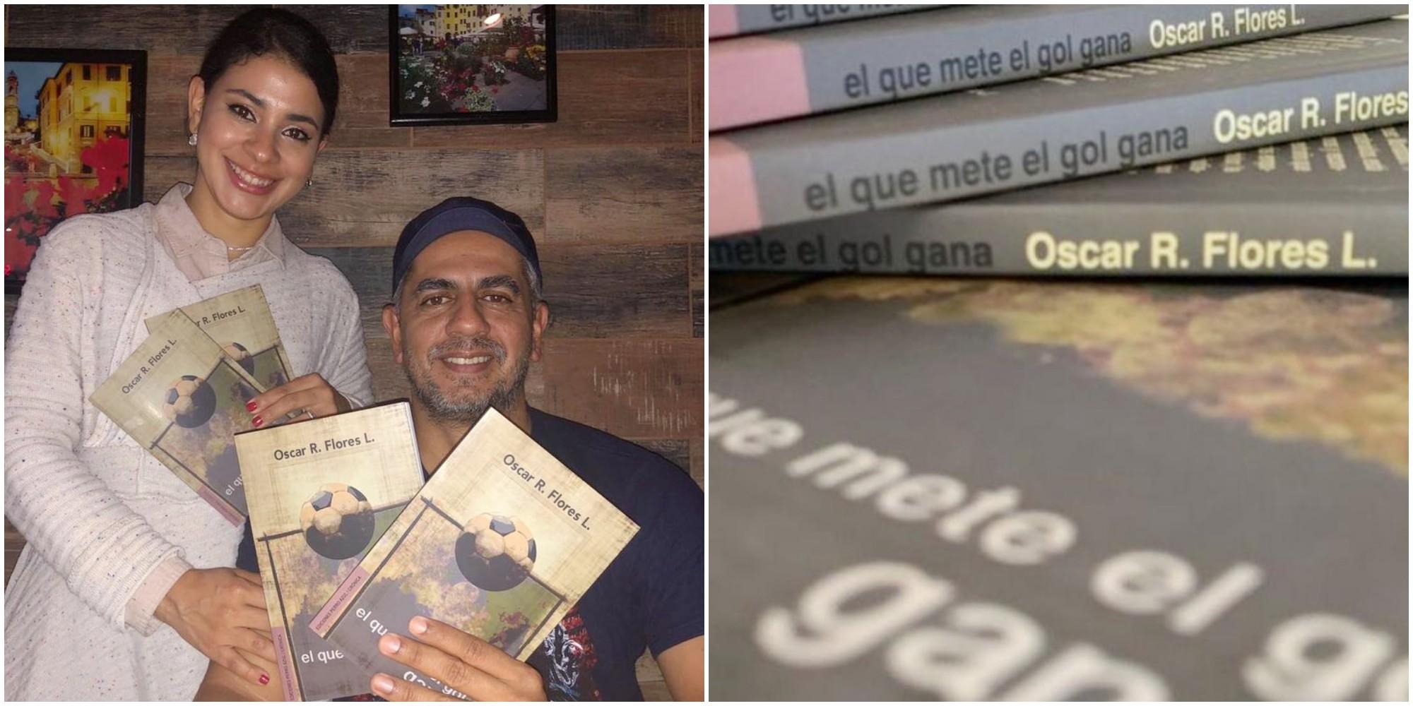 Periodista Óscar Flores presenta su libro sobre fútbol hondureño