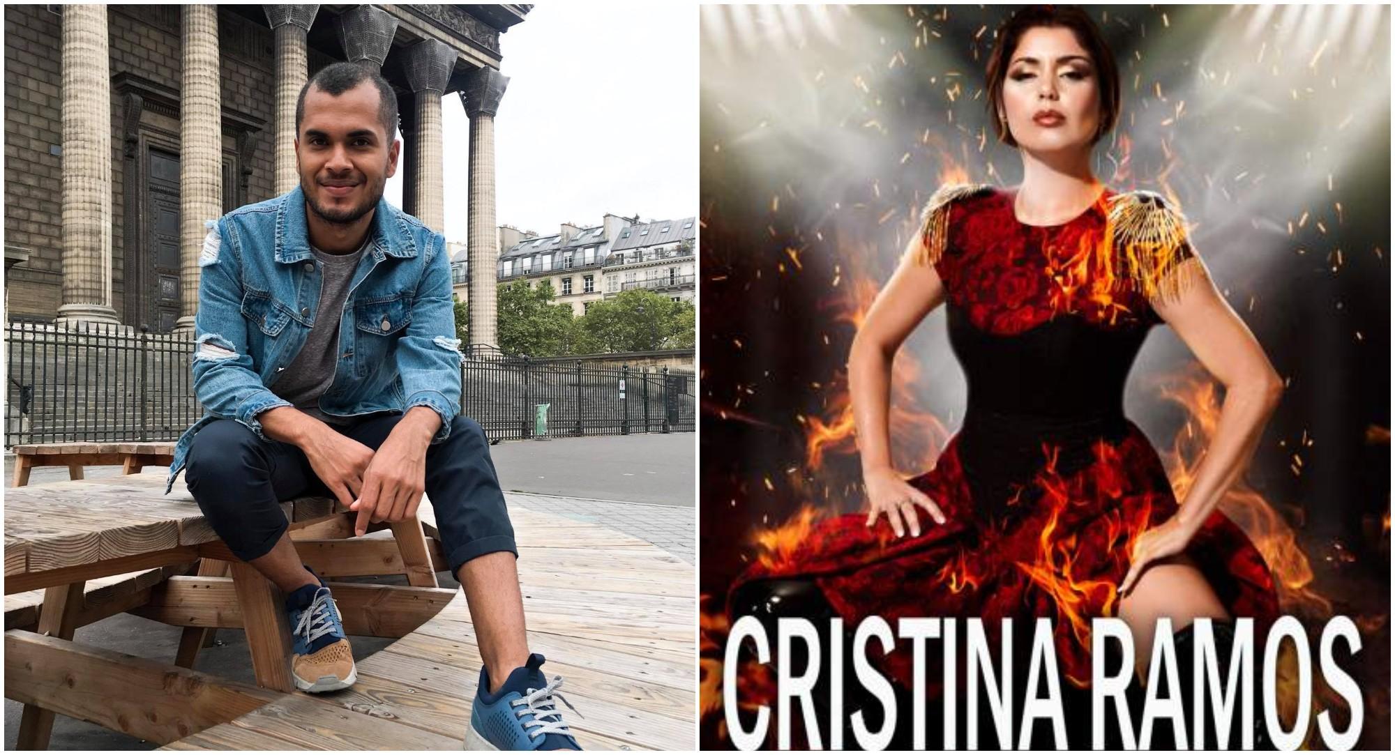 Hondureño Michael Torres diseñó el vestido de Cristina Ramos