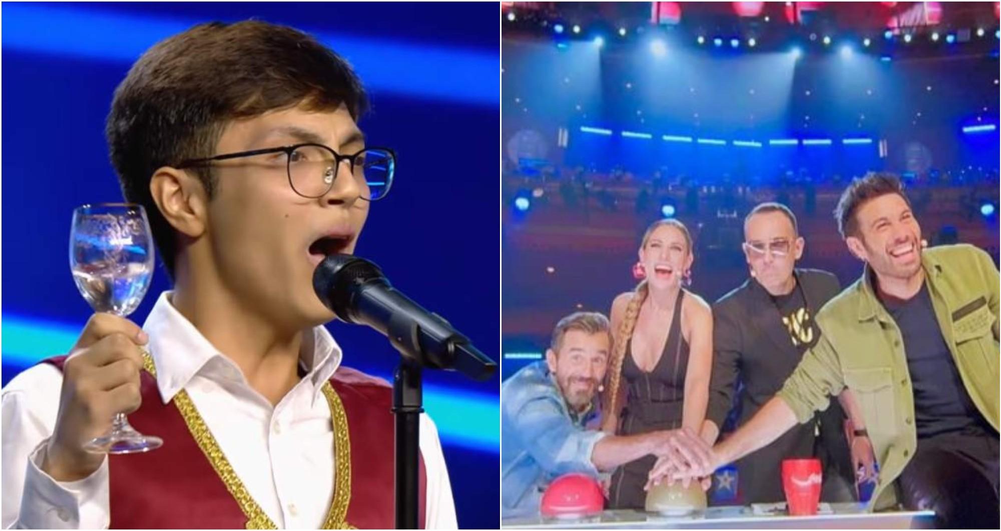 Hondureño Denis Manzanares destaca en Got Talent España
