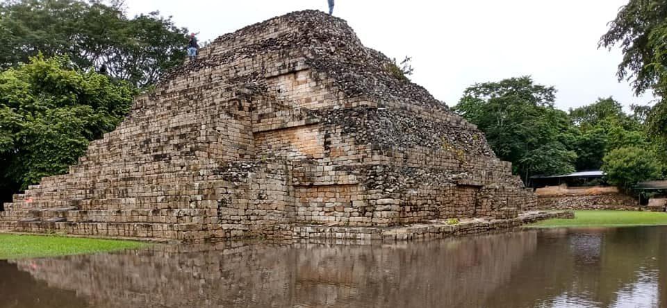 Una actividad al aire libre, Parque Arqueológico El Puente