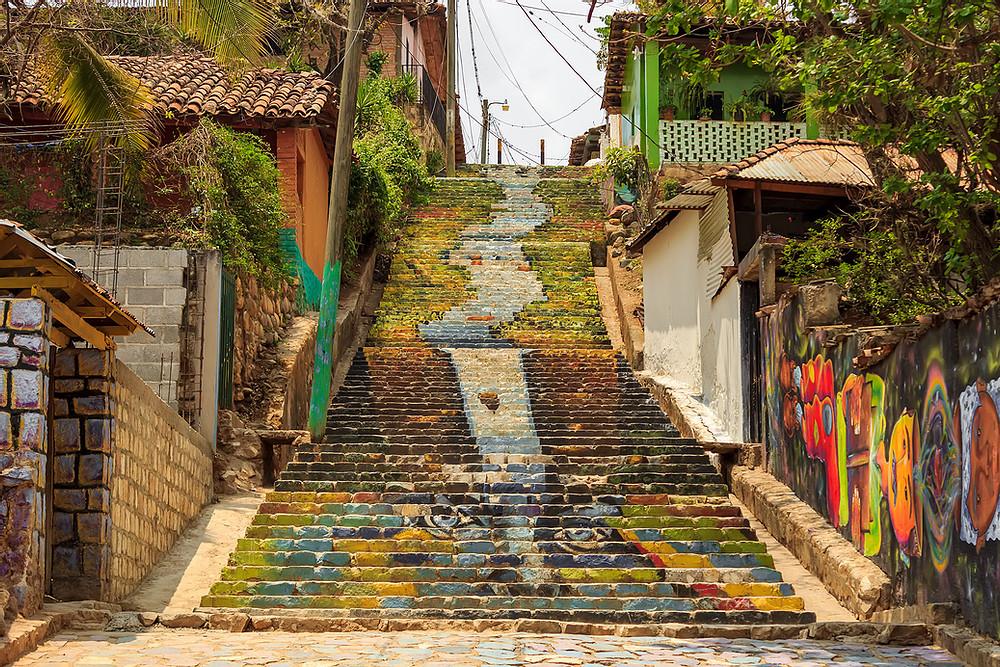 Murales artísticos en Cantarranas