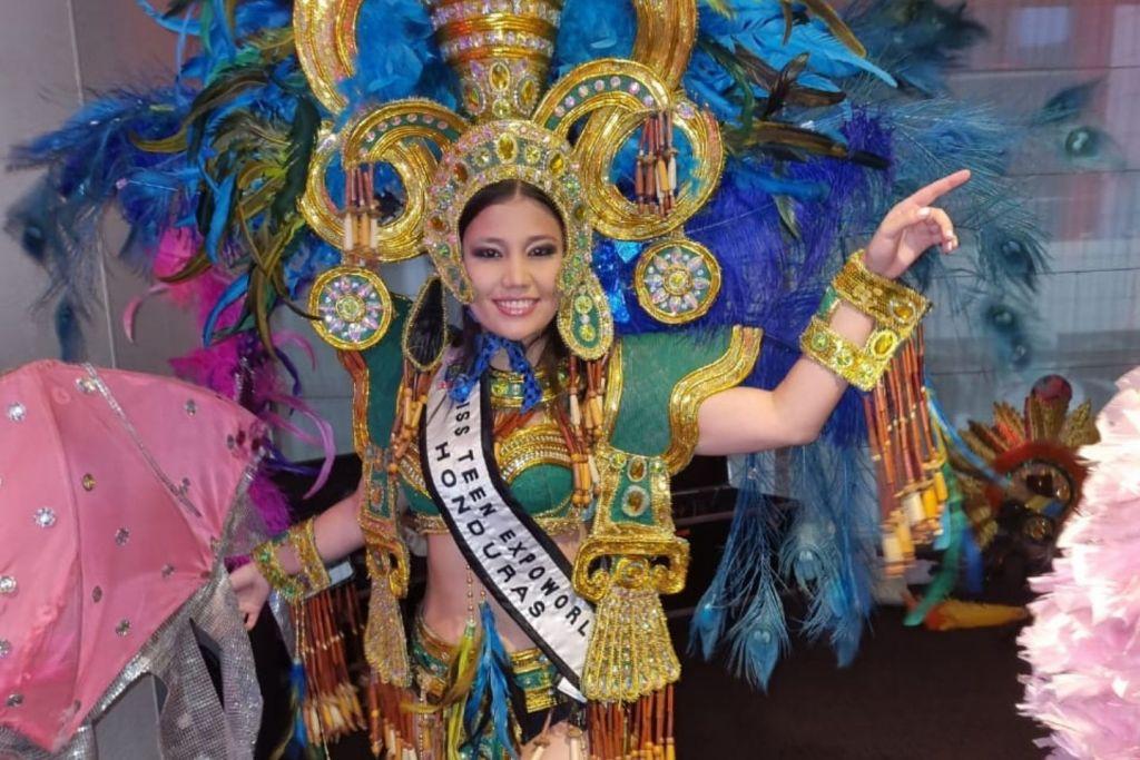 Hondureña Angelie Girón obtuvo el primer lugar en Miss Teen Expoworld