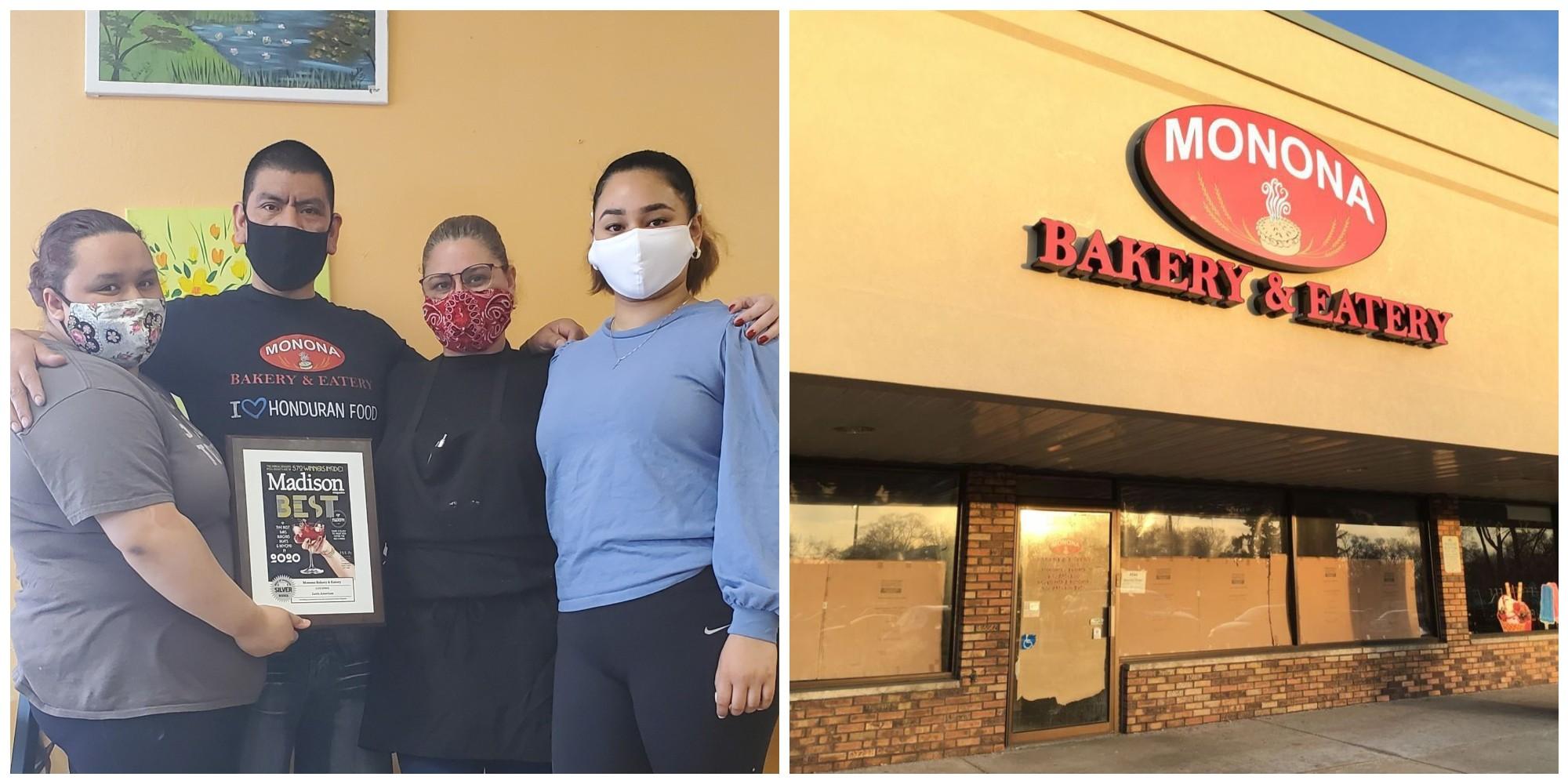 Hondureña triunfa con su restaurante Monona Bakery en Estados Unidos