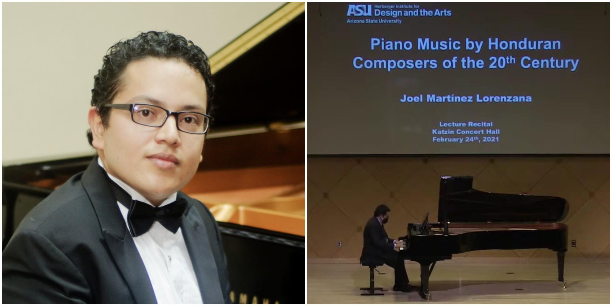 Hondureño destaca en la Arizona State University gracias a su música