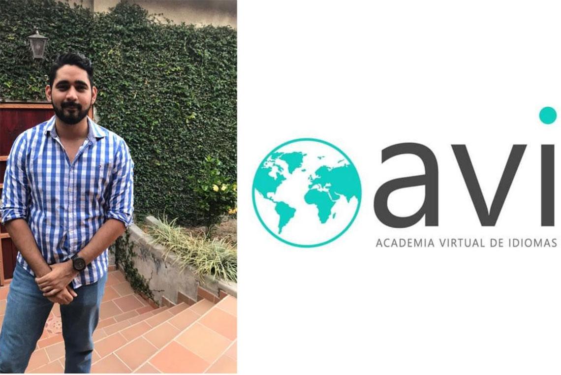 Hondureño Álvaro Zelaya crea academia virtual de idiomas en Honduras
