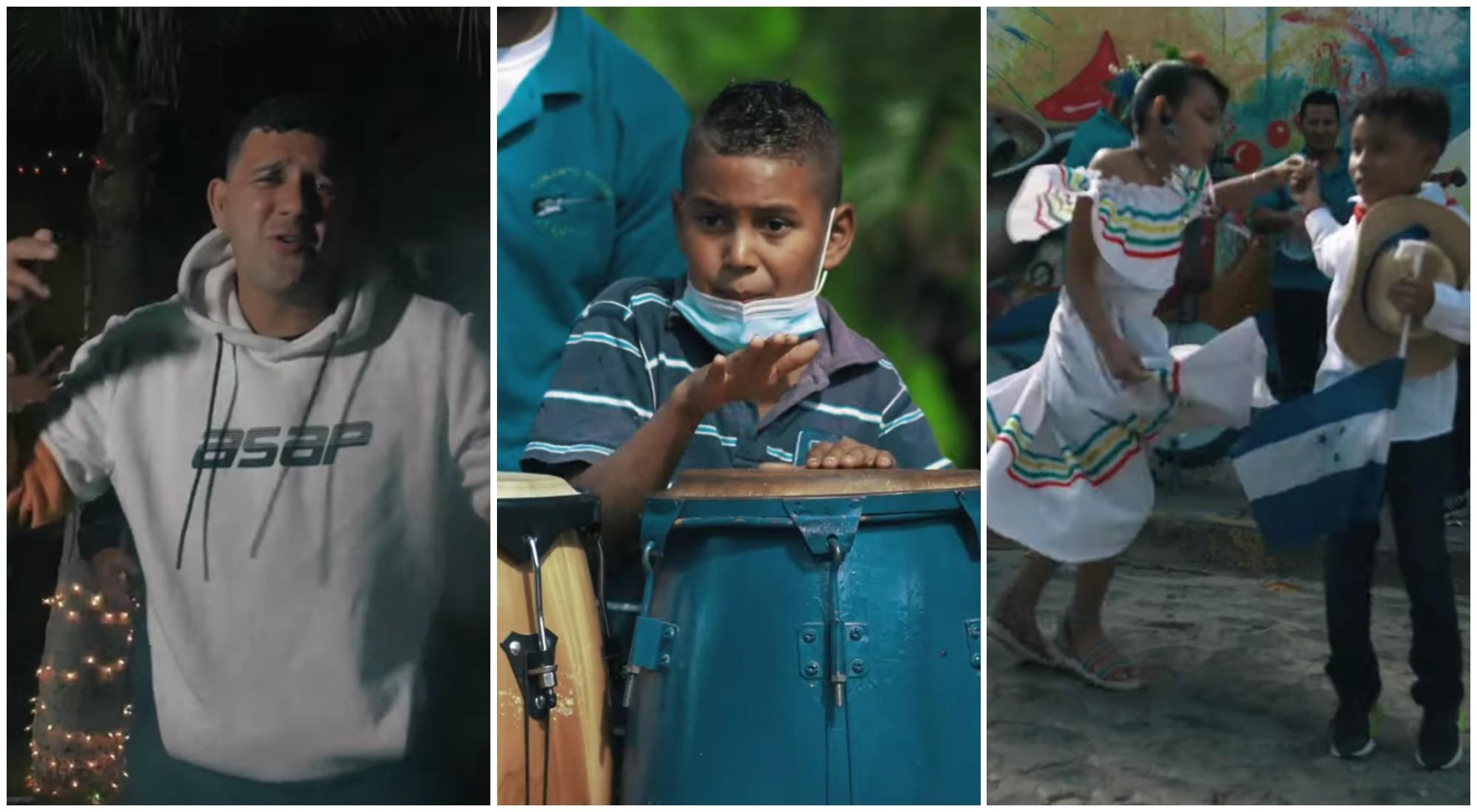 Crean vídeo musical que destaca a Sabanagrande, Honduras
