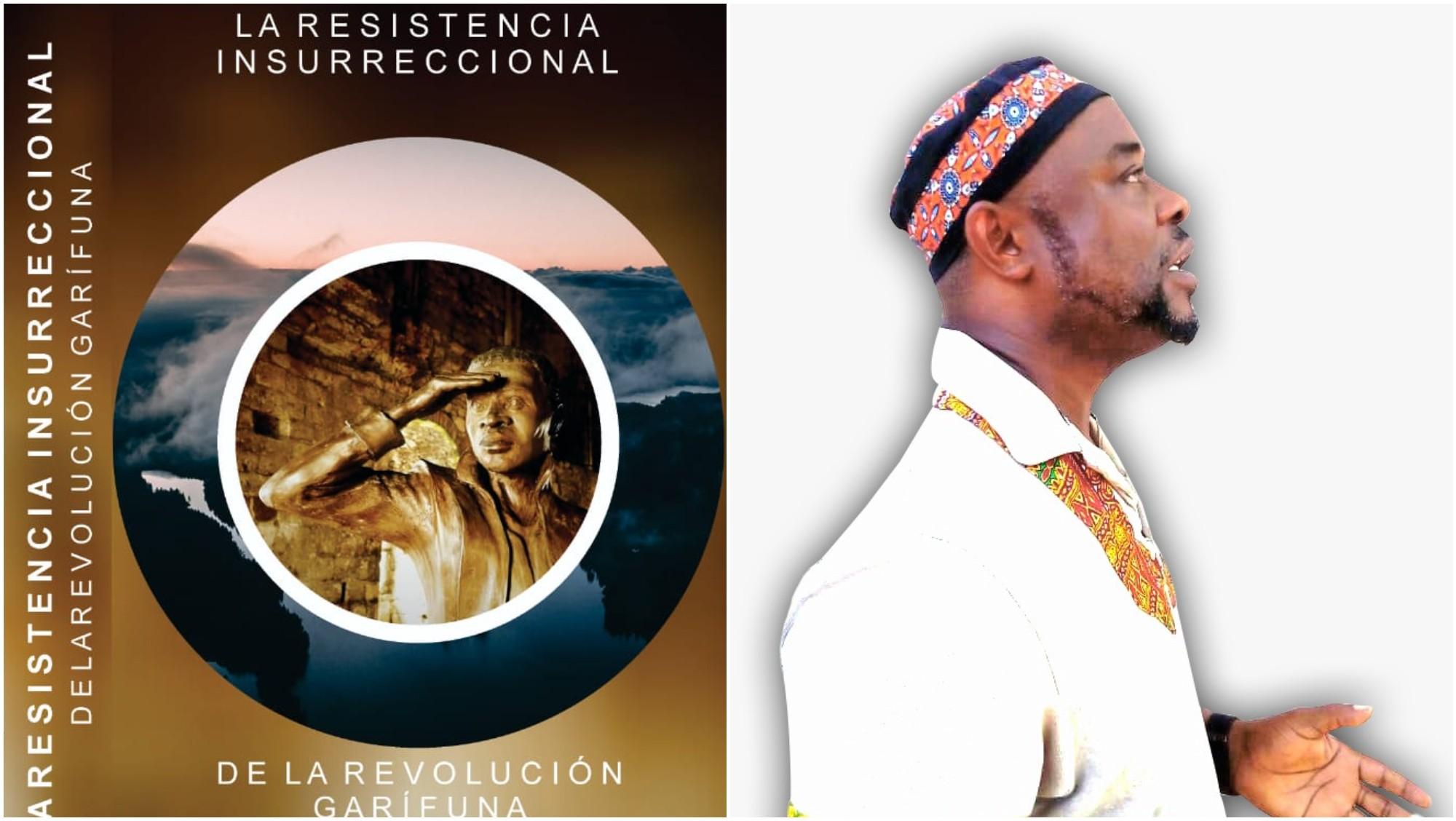 Hondureño Andoni Castillo, publicó un libro de la historia garífuna